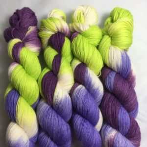Versuchung - Handgefärbte Wolle