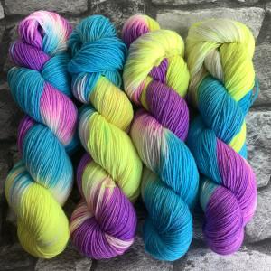 Handgefärbte Wolle Candy – Classic gefärbte Wolle kaufen
