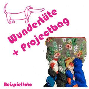 Wolldackel Wundertüte + Projectbag (Versandkostenfrei)