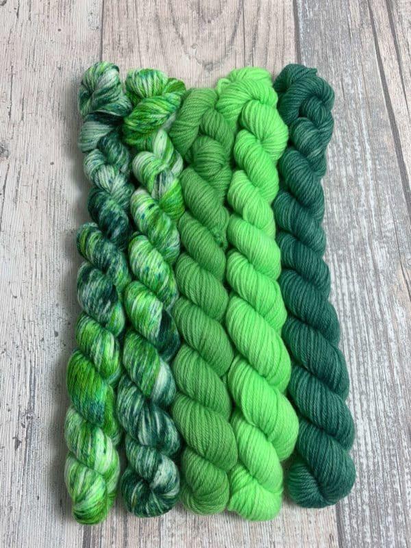 #8 el verde - Merino Minis