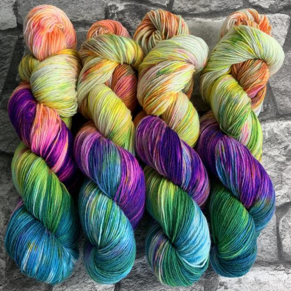 Handgefärbte Wolle Fantastic Five – Classic gefärbte Wolle kaufen