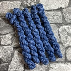 Handgefärbte Wolle Nolan  –  Classic  –  Mini gefärbte Wolle kaufen