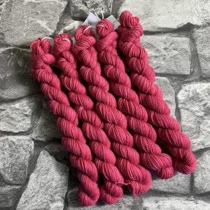 Handgefärbte Wolle Centa  –  Classic  –  Mini gefärbte Wolle kaufen