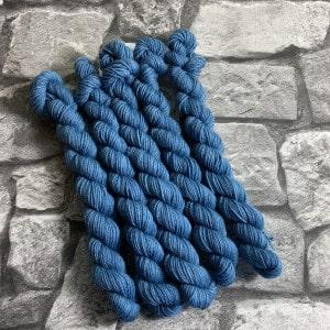 Handgefärbte Wolle Clark  –  Classic  –  Mini gefärbte Wolle kaufen