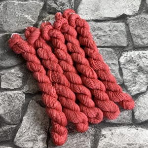 Handgefärbte Wolle Odessa  –  Classic  –  Mini gefärbte Wolle kaufen