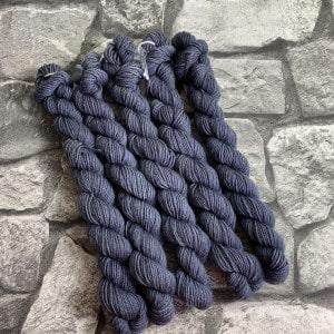 Handgefärbte Wolle Richard  –  Classic  –  Mini gefärbte Wolle kaufen