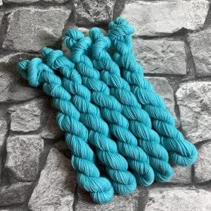 Handgefärbte Wolle Percy  –  Classic  –  Mini gefärbte Wolle kaufen