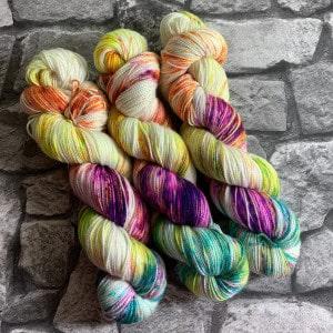 Handgefärbte Wolle Fantastic Five – Pure gefärbte Wolle kaufen