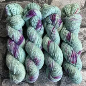 Handgefärbte Wolle Little Princess – Classic gefärbte Wolle kaufen