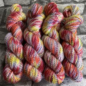 Handgefärbte Wolle Sundance  –  Tornado gefärbte Wolle kaufen