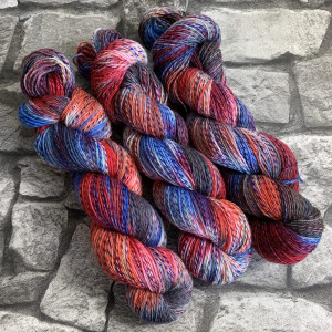Handgefärbte Wolle Joker 800 – Tornado gefärbte Wolle kaufen
