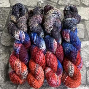 Handgefärbte Wolle Joker 900 – Tornado gefärbte Wolle kaufen