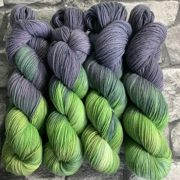 Handgefärbte Wolle The Hulk – Classic gefärbte Wolle kaufen