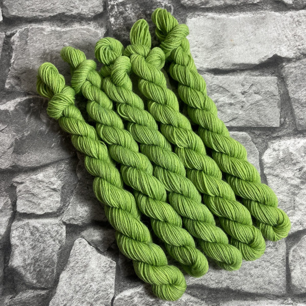 Ein Strang handgefärbte Wolle mit dem Namen Ashton –  Classic  –  Mini von Wolldackel